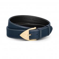 Men Belt - Calfskin - Blue...